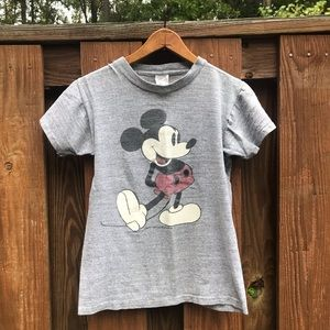 Vintage 70s Mickey Mouse tshirt